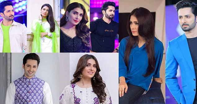 Danish Taimoor and Ayeza Khan Same Dress excellent Clicks