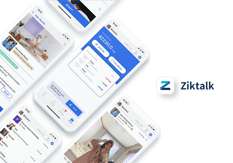 Ziktalk hits 500,000 users after app update in February