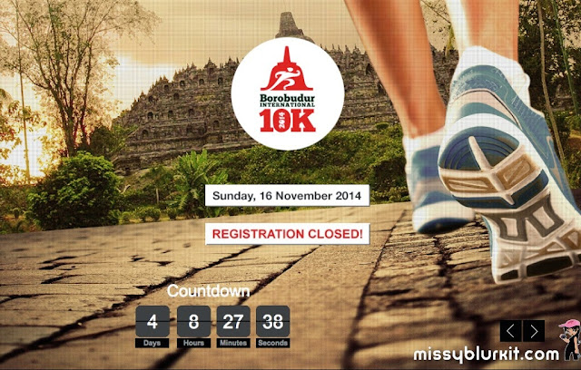 airasia, Borobudur International 10K 2014, Indonesia, running, travel, Borobudur,