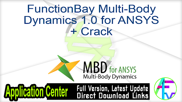 FunctionBay Multi-Body Dynamics 1.0 for ANSYS + Crack