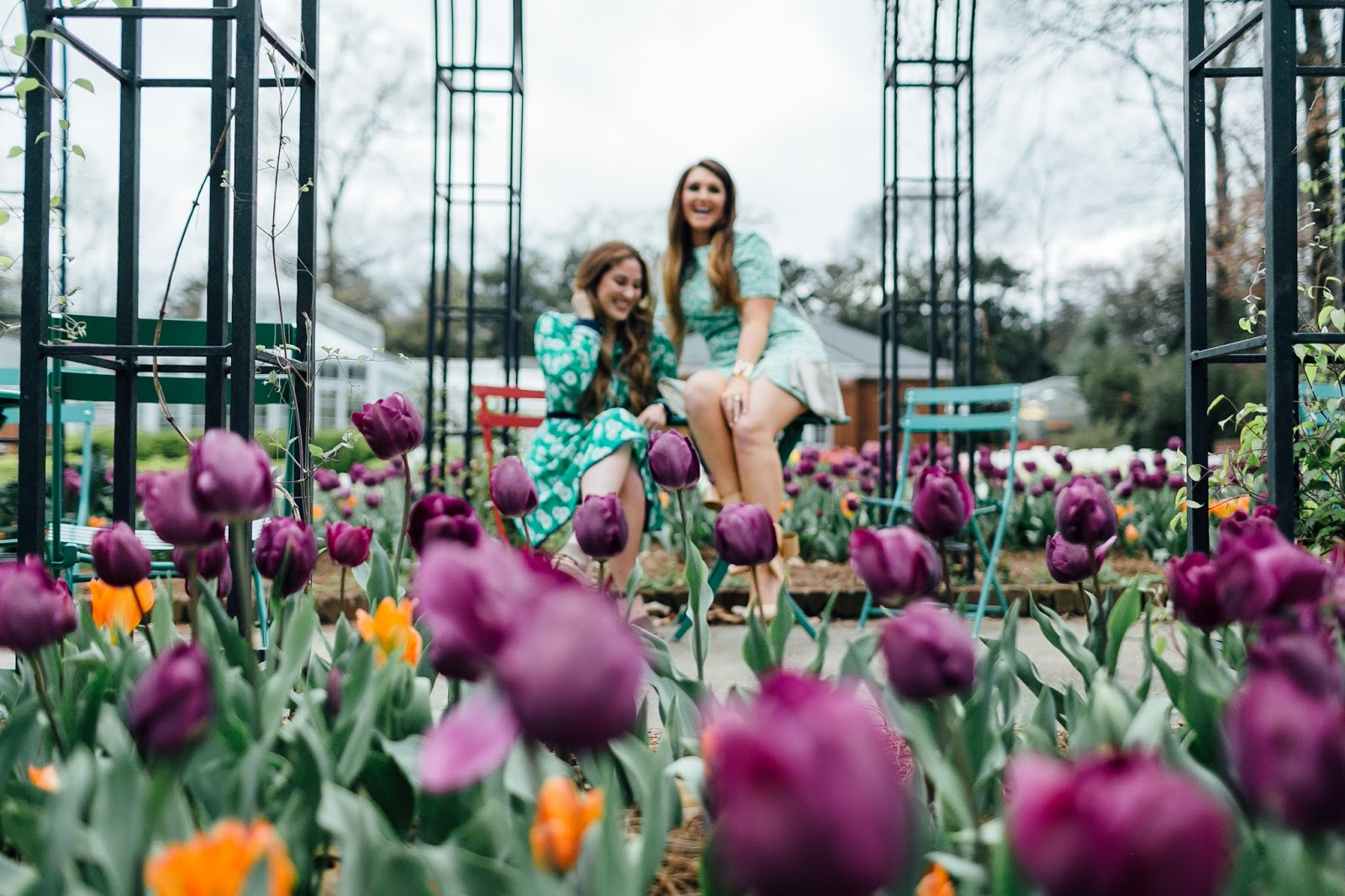 2 Pretty Easter Dresses for Women by fashion blogger Laura from Walking in Memphis in High Heels
