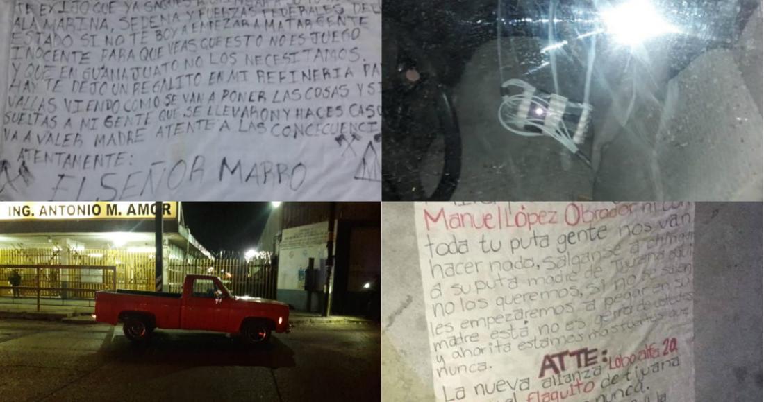 """""""El Marro"""", niega haber escrito Narcomantas y enviar amenazas en contra AMLO; asegura que fue montaje del CJNG"""