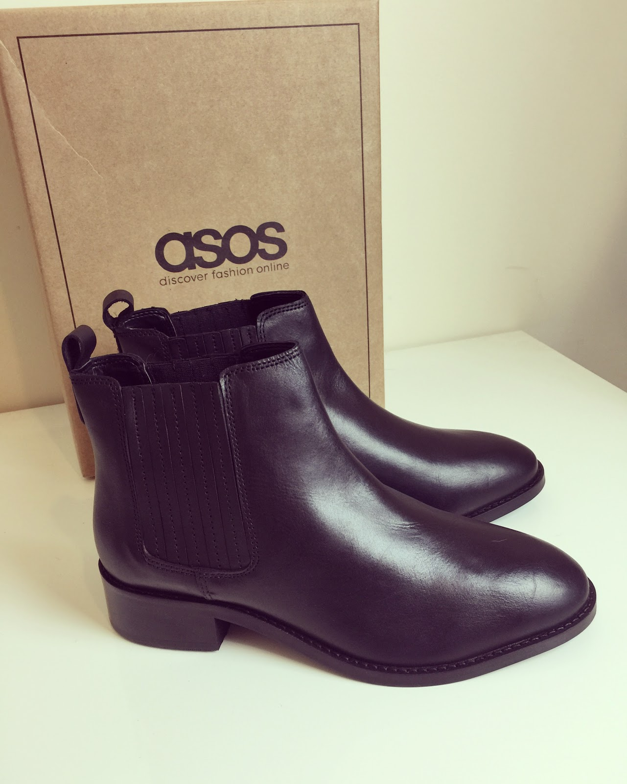 eb32e89277c ASOS About Time Ankle Boots in Wide Fit are a stunning black leather ankle  boot. I have wide feet and although I can wear some leather boots I find  some of ...