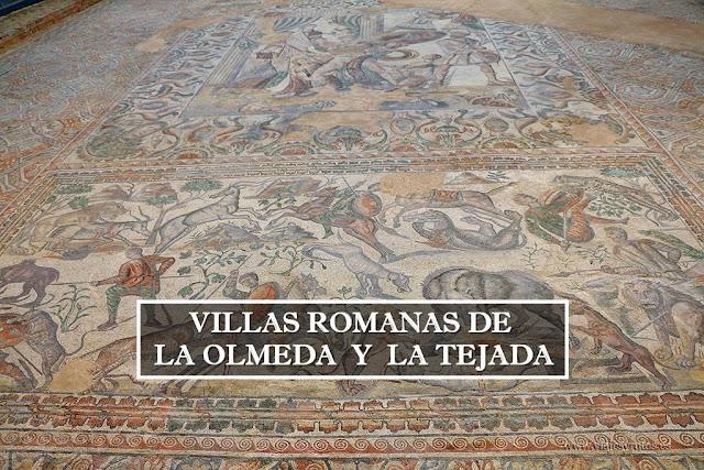 Visitando las Villas romanas de La Olmeda y La Tejada