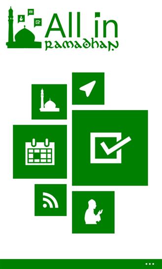 All in Ramadhan | Aplikasi Windows Phone yang wajib anda miliki saat Ramadhan!