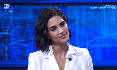 Rocío Morales bella moglie di Raoul Bova a i soliti ignoti 26 aprile