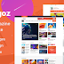 eKagoz - Blog, News & Magazine PSD Template