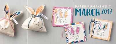 March 2017 Paper Pumpkin Bunny Buddies