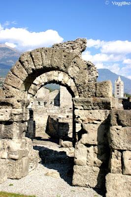 Reperti presenti nel Parco Archeologico