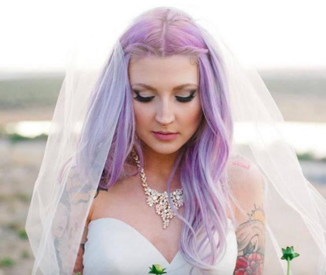 El violeta luce simplemente espectacular