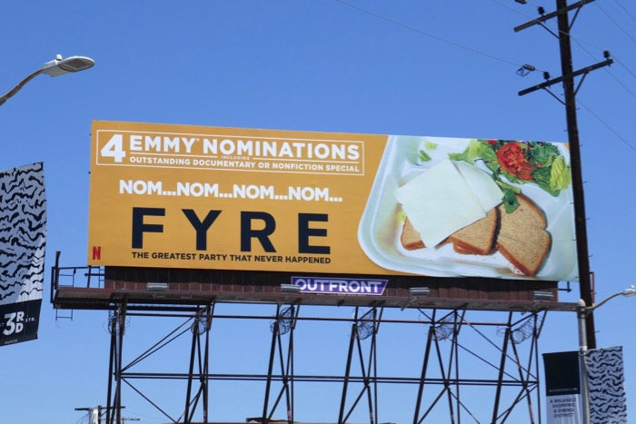 Fyre Netflix documentary Emmy nominee billboard