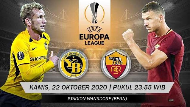 Prediksi Young Boys Vs AS Roma, Kamis 22 Oktober 2020 Pukul 23.55 WIB