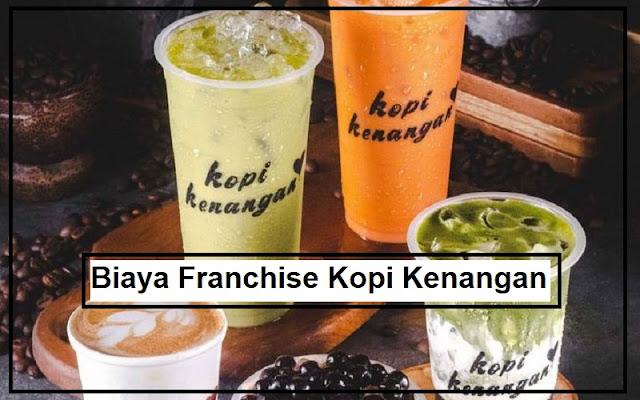 rincian biaya franchise kopi kenangan