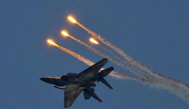 طائرات الكيان الصهيوني تشن غارات جوية على مواقع في ريف القنيطرة بسوريا وتخلف ضحايا