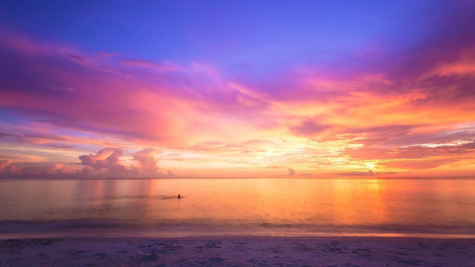 Rule of Third dalam foto komposisi laut yang indah