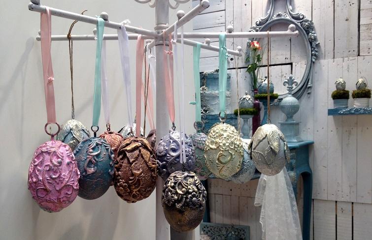 Geschenkidee Ornamente auf Eiern - Softton