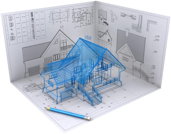 Contoh Gambar Desain Bangunan