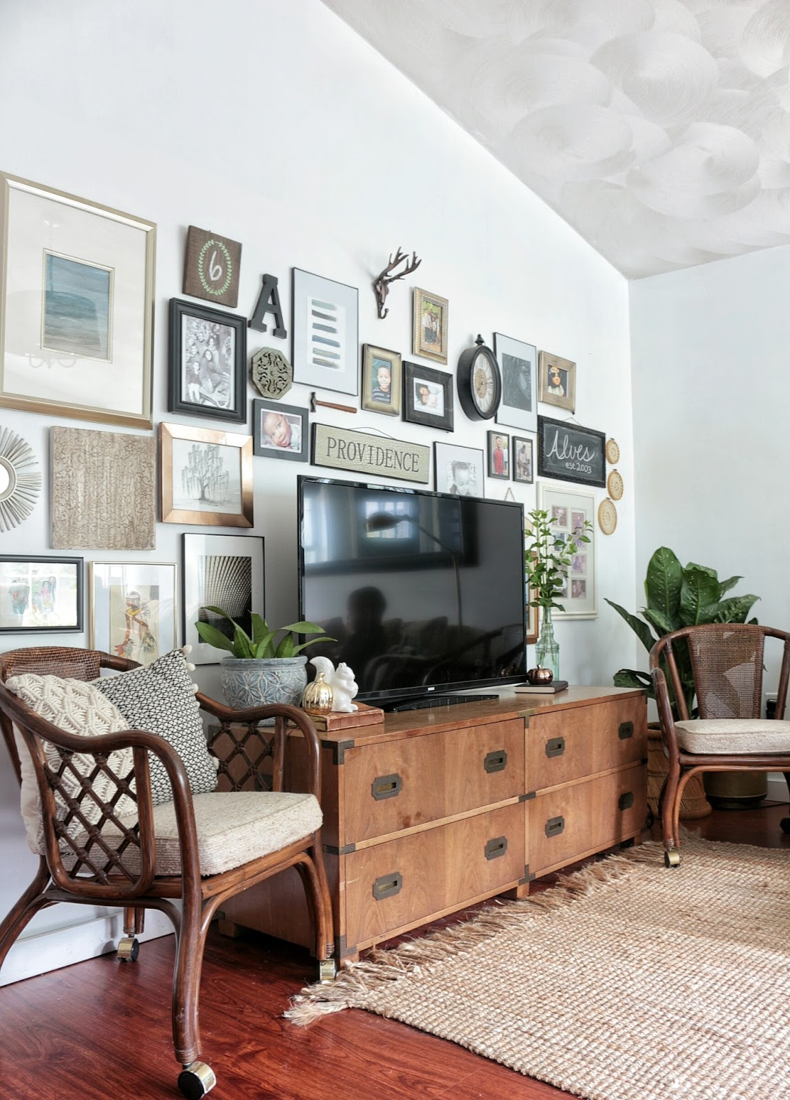 tools, tips and tricks for hanging a gallery wall