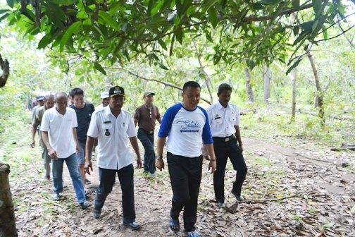 Bupati Tinjau Lokasi Pembangunan Rumah Sakit Pratama Di Pulau Jampea