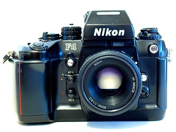 Nikon F4, AF Nikkor 50mm f/1.8 D