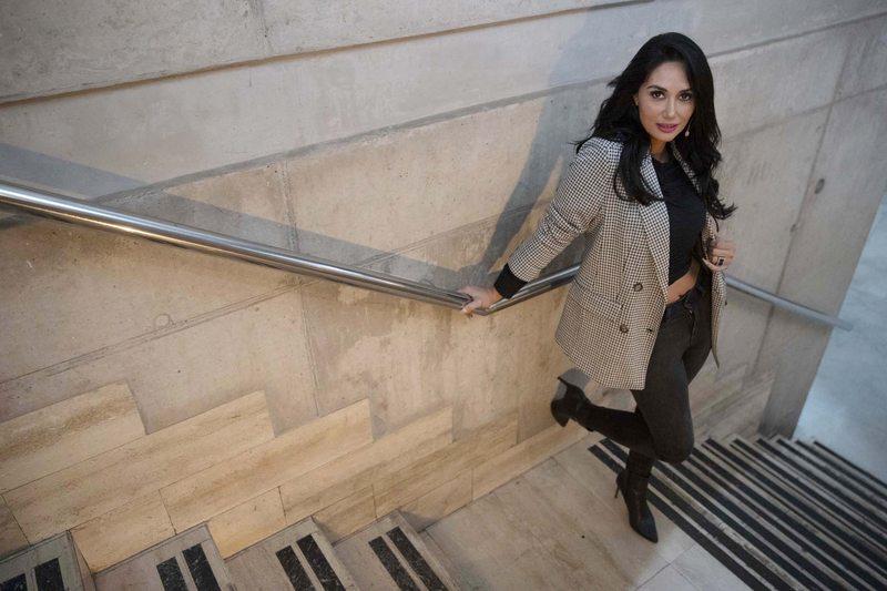 Pamela Díaz aterrizó en TVN