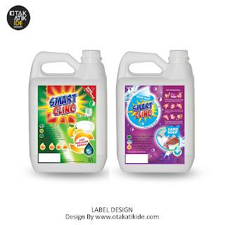 Jasa desain label produk detergent