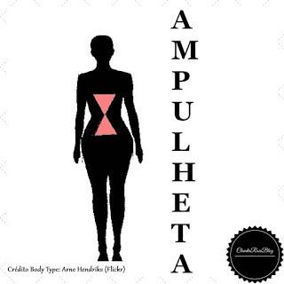Tipo de Corpo Feminino - Ampulheta