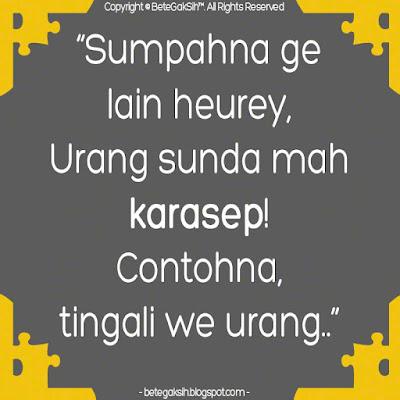 Kata Kata Orang Sunda Lucu