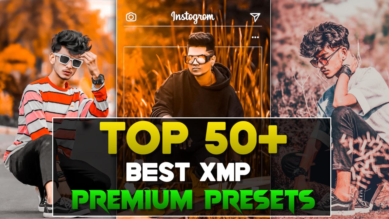 Top 50+ Premium Lightroom XMP Presets Download