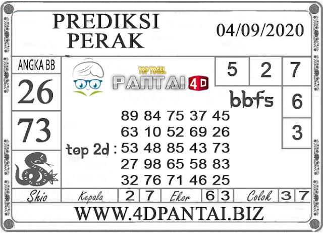 PREDIKSI TOGEL PERAK PANTAI4D 04 SEPTEMBER 2020