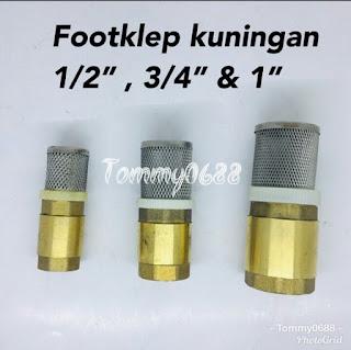 Footklep kuningan