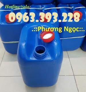 Can nhựa 10 Lít đựng hóa chất, can nhựa đựng xăng dầu 984d2a77be4e5810015f