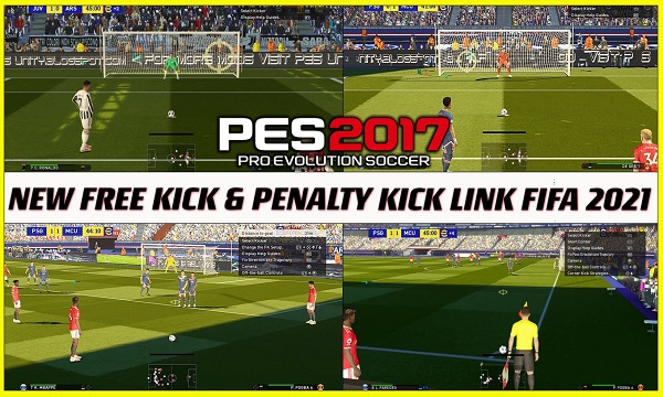 PES 2017 New Mod Free Kick & Penalty And Corner Like Fifa 21