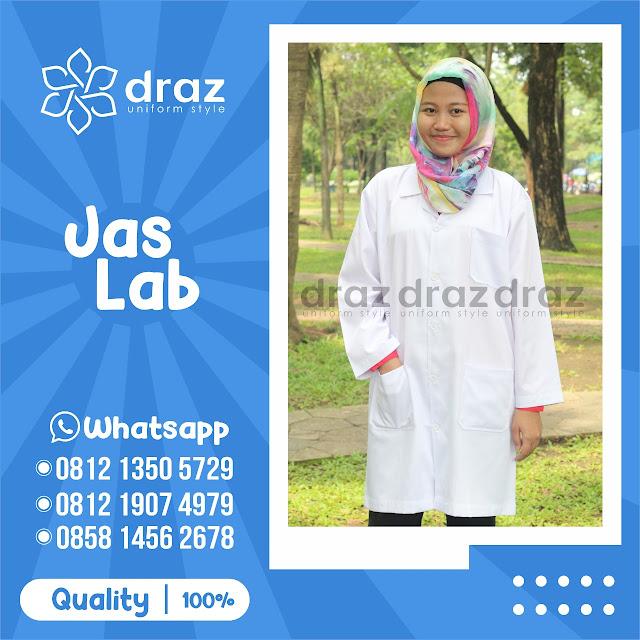 0812 1350 5729 Konveksi Harga Baju Laboratorium Lengan Panjang Satuan Murah di Jakarta Barat