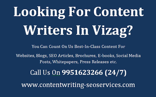 Content Writers Vizag