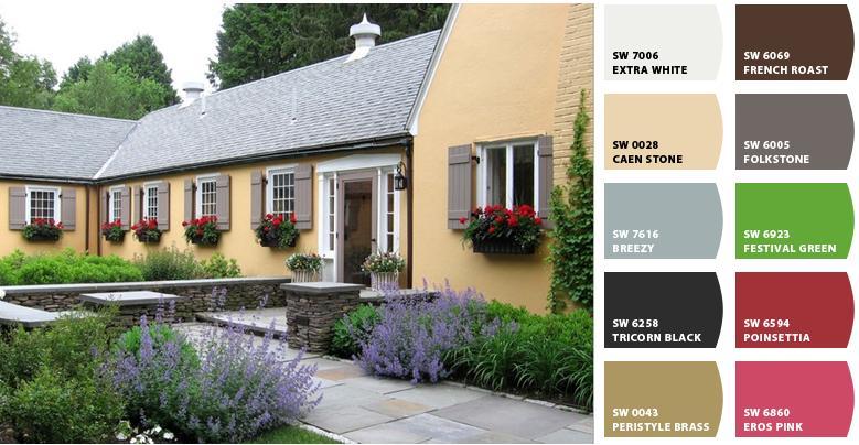 French Country Exterior Paint Colors   Joy Studio Design ...