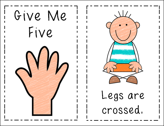 "Kinder Garden: Peace, Love And Learning: ""Give Me Five"" Freebie"