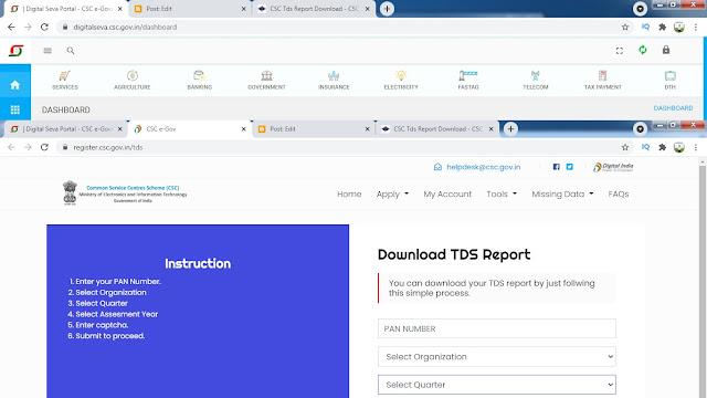 TDS report,TDS report 2021