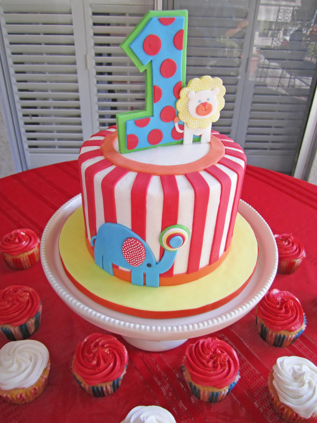 Cakes By Sarah Baby Carnival Cake