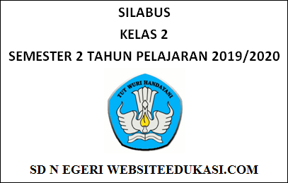 Silabus Kelas 2 SD/MI Semester 2 K13 Revisi 2019