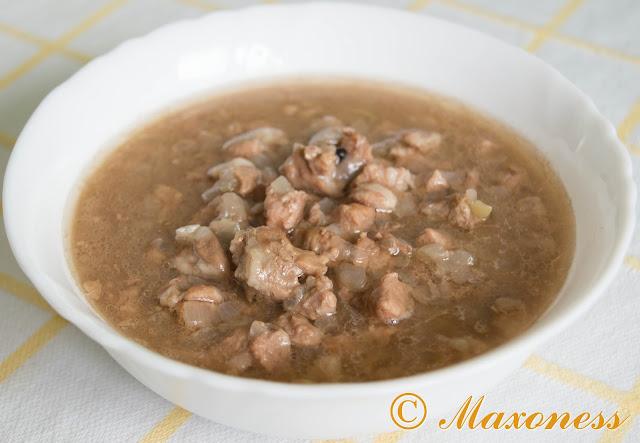 Винный кебаб. Болгарская кухня