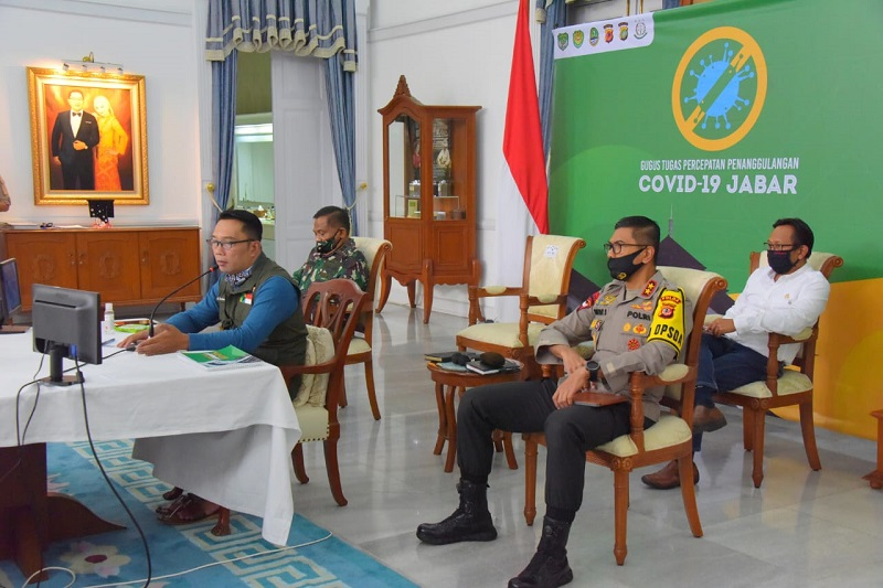 PSBB Bandung Raya: Gubernur Jabar Harap Pergerakan Warga Hanya 30 Persen