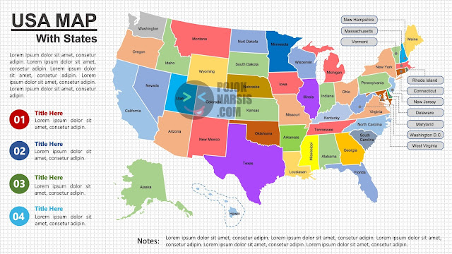 US Map With States