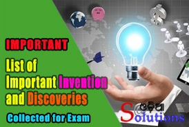 Important Discovery and Invention