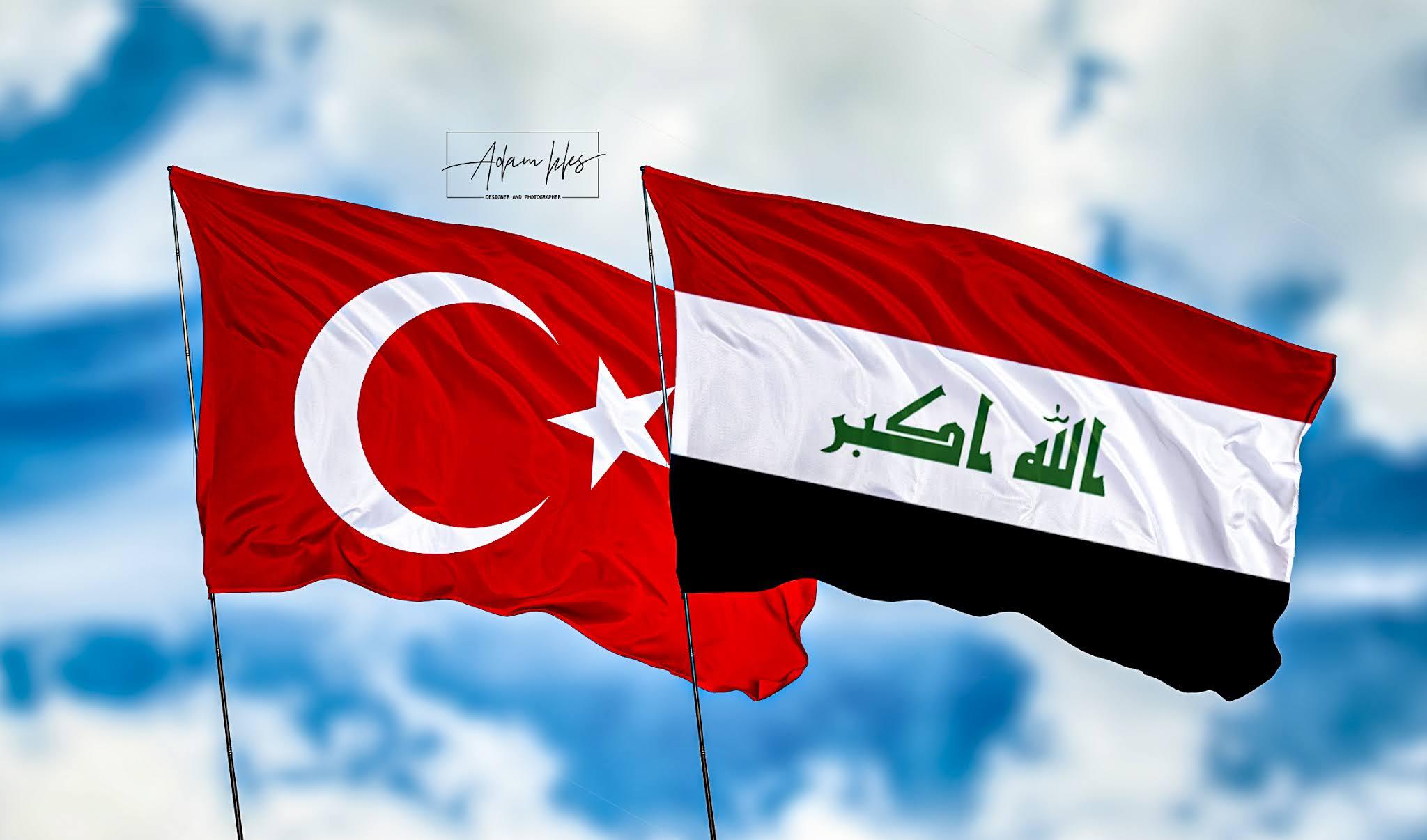 اجمل خلفيات العراق وتركيا خلفيات علم العراق وعلم التركي