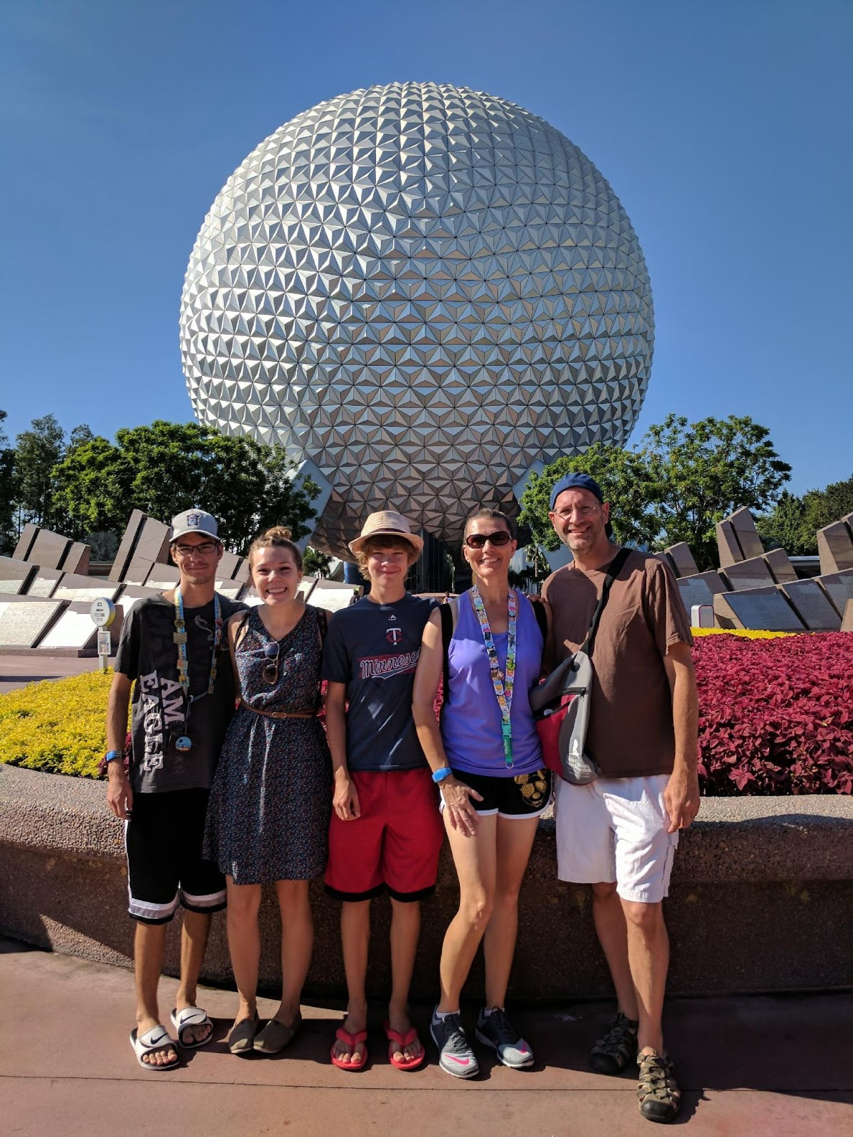 Woven By Words Visiting Epcot