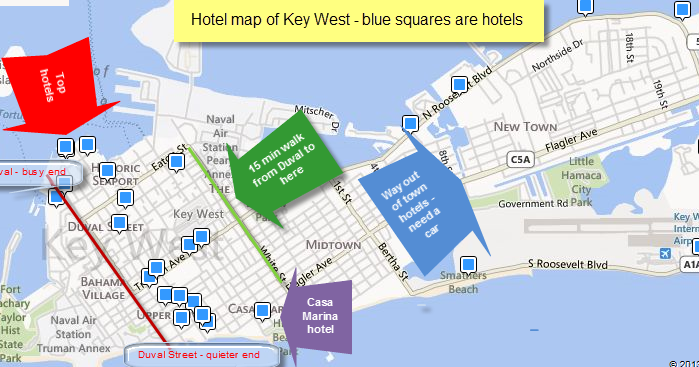 Key West vacation and visit guide: Key West hotels Key West Duval Street Map on florida keys map, key west city map, key west neighborhood map, johnson street key west map, key west historic district map, mallory square key west map, key west fl street map, front street key west map, key west tourist map, key west hotel map, 0 duval street map, monroe county key west map, key west road map, truman annex key west map, key west tour map, beaches key west map, key west bar map, the meadows key west map, key west area map,
