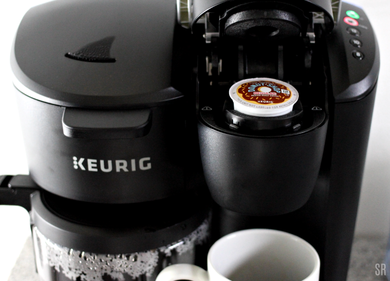 a black Keurig K-Duo Essential Coffee Maker