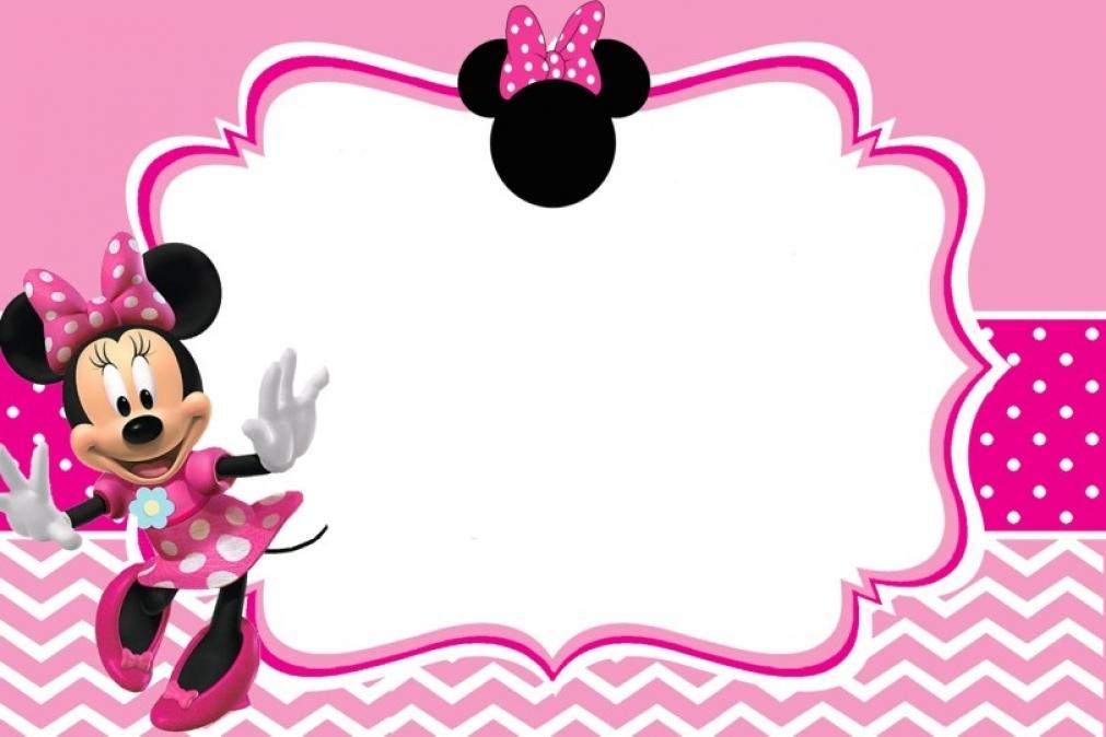Festa Minnie Mouse Imagens E Fundos Para Personalizar