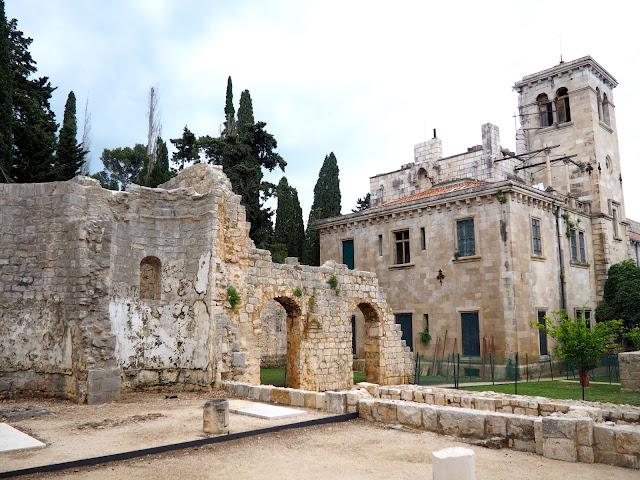 Benedictine monastery on Lokrum Island, Dubrovnik, Croatia